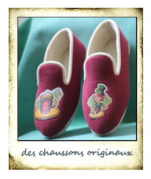 Made in France, chaussons pantoufles charentaise made in France